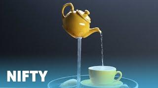 Teapot Fountain