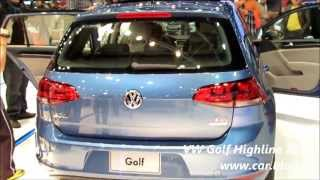 VW Golf 7 Highline 2014 - www.car.blog.br
