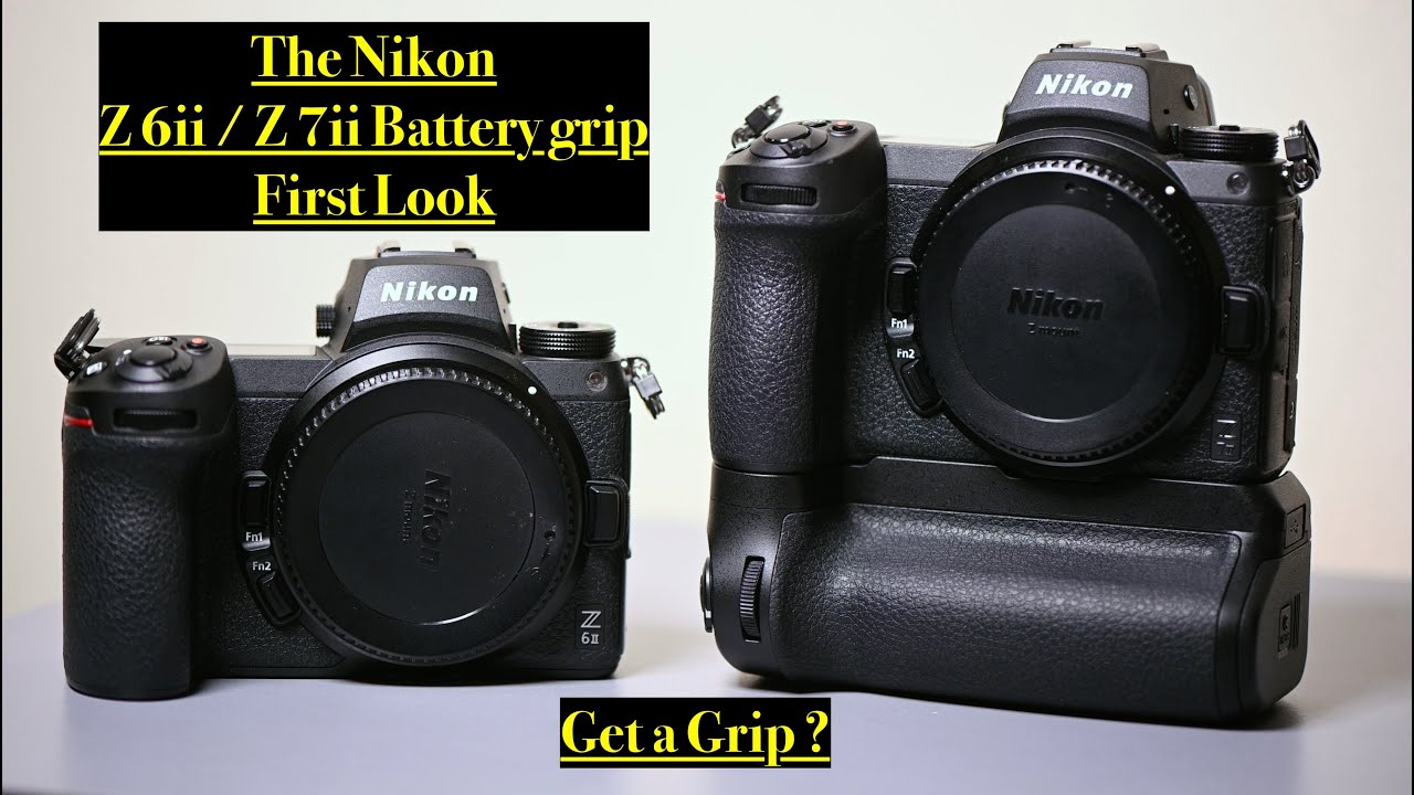 Nikon Z 6ii / Z 7ii Grip. First look at the new MB-N11. How hot swapping works