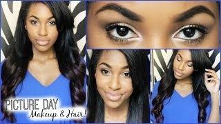 Back to School: Picture Day Hair & Makeup! Thumbnail