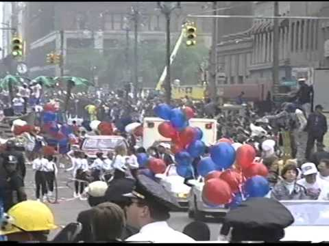Detroit Pistons Victory Parade, June 15, 1989, Tape 1