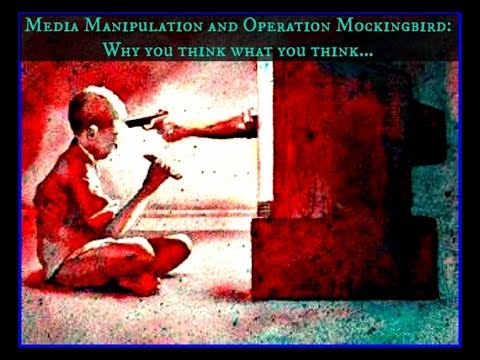 Operation Mockingbird & the C.I.A.'s Control of the Media!
