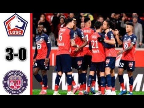 Lille Vs Toulouse 3-0 Ligue 1 22/02/2020