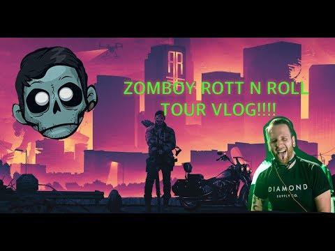 Zomboy Rott n Roll Tour Pt. 2 Vlog Mp3