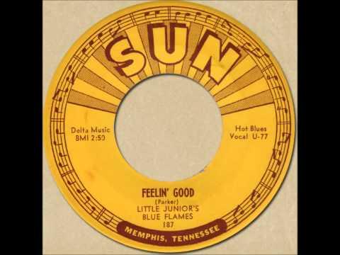 LITTLE JUNIOR'S BLUE FLAMES - FEELIN' GOOD [Sun 187] 1953