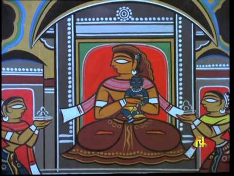 jamini roy film portrait of a painter