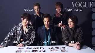 EXILE・TAKAHIRO・黒木啓司・TETSUYA・世界・佐藤大樹 Vogue Japan「好...