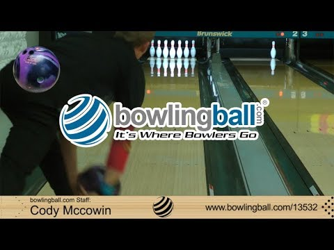 Bowlingball.com Columbia 300 Lit Bowling Ball Reaction Video Review
