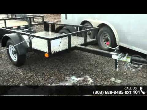 2016 Silver Fox  4x6 Utility Trailer - Colorado Trailers,...
