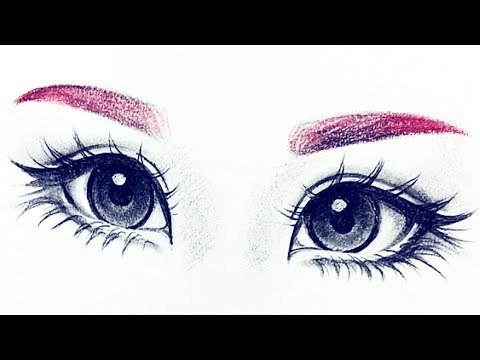 How I Draw Eyes From Reference ♡ |Christina Lorre'