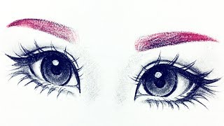 How I Draw Eyes From Reference ♡ |Christina Lorre