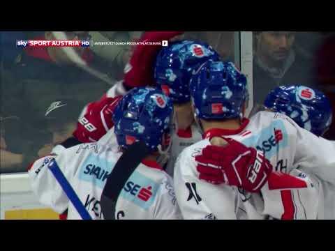 Erste Bank Eishockey Liga 17/18, 39. Runde: EC-KAC - HC Innsbruck 5:6 n.P.