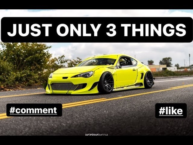 3 Things That The Brz/Frs/86 Community Lives on..