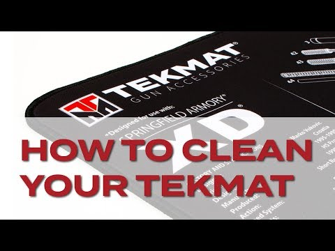 How to Clean Your TekMat
