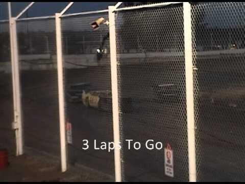 Three Wide Photo Finish   Late Model   I-76 Speedway 8/27/11