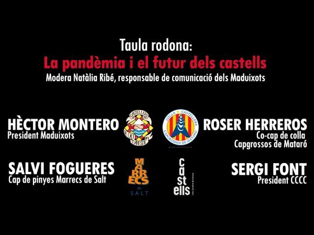 CCCC + MARRECS + CAPGROSSOS + MADUIXOTS - Taula Rodona
