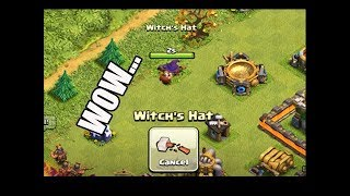 What Happens If You Remove Witch's Hat In Clash of Clans Halloween 2018?