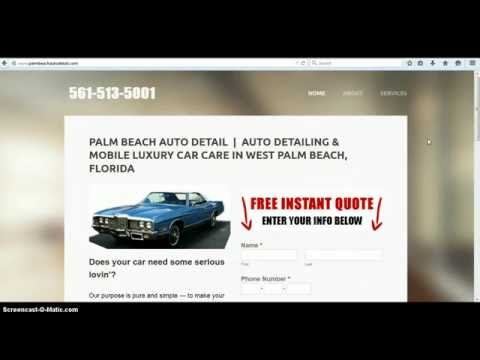 Mobile Auto Detailing West Palm Beach