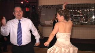 Bride sings and dances to Abba (Waterloo) at Officers Club - North Island