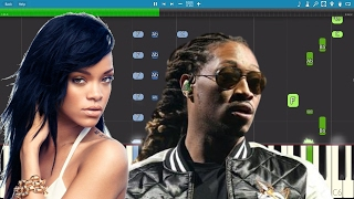 How to play Selfish by Future ft Rihanna Want to learn the piano? H...