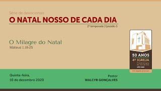 O NATAL NOSSO DE CADA DIA – 2ª temporada | Série de devocionais