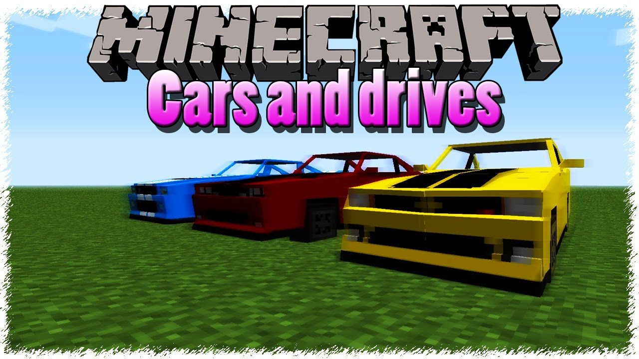 Ro Minecraft Mod Showcase Cars And Drives 1 7 10 Hd You
