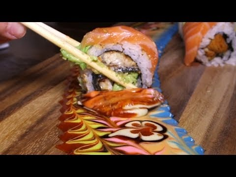 Dip Sushi Into Edible Works of Art