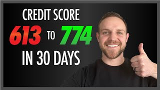 INCREASE Your Credit Score in 30 Days | How to Increase Your Credit Score