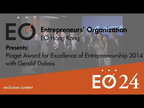 #EO24 - Hong Kong - Piaget Award for Excellence of Entrepreneurship 2014