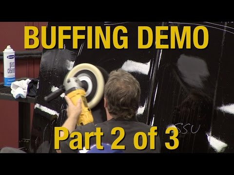 How To Buff Clear Coat & Polishing Your Car Part 2 of 3 - Kevin Tetz Demonstration - Eastwood