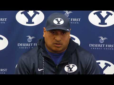 2017 BYU football: Kalani Sitake talks San Jose State week