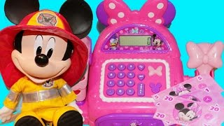 MINNIE MOUSE Electronic CASH REGISTER BowTique Shopping for Baby Alive Mickey Mouse Shopkins Toys