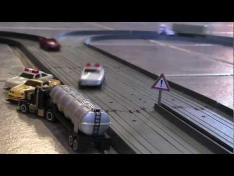 """TCR Rail 4 voies """"l'echangeur"""""""
