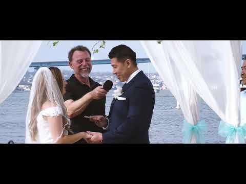 Kimberly & Kevin - Wedding day, Coronado, CA