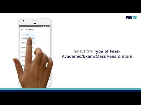 How to Pay Education Fee on Paytm App?