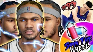 NBA 2k18 MyCAREER - Spin the Wheel of NBA Hair Colors! Mean Ankle Breakers on Coach's Son! Ep. 93