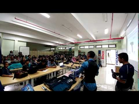 Bosch Power Tools Indonesia Goes to Campus 2016 - Part 1