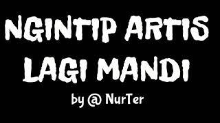 NGINTIP ARTIS LAGI MANDI di Kolam Renang