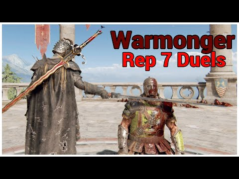 YOU ARE NO CENTURION || For Honor || Rep 7 Warmonger Duels |