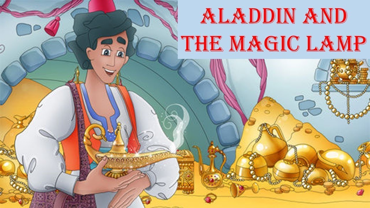 Learn English Through Story - Aladdin and the magic lamp - YouTube for Aladdin And The Magic Lamp Book  535wja