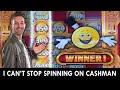 🤑 NONSTOP CASHMAN on MAX BET 🎰 $7.50 at San Manuel Casino