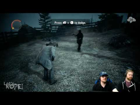 Let's NOPE! — Alan Wake