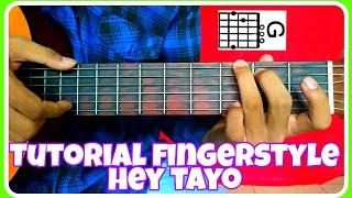 Tutorial Fingerstyle HEY TAYO - Belajar gitar