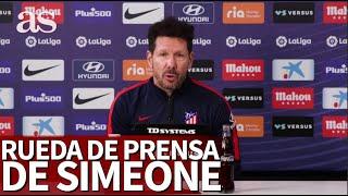 ATLÉTICO DE MADRID | Rueda de prensa de SIMEONE |Diario As