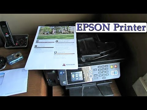 How to: Epson printer ink cartridge replacement