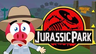 Flonk em Jurassic Park - Turma Mirim