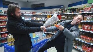 Хрюши против - ночь в магазине