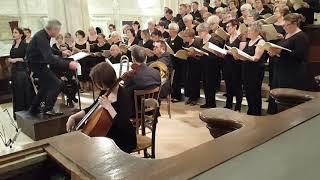 """"""" Le  Requiem de Duruflé """"  interprété à St Vincent de Paul .."""