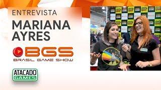 BGS2018 - Entrevista com Mariana Ayres na Brasil Game Show