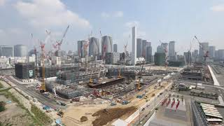 "(Tokyo 2020 Games)""The Olympic and Paralympic Village"" Time-Lapse footage"
